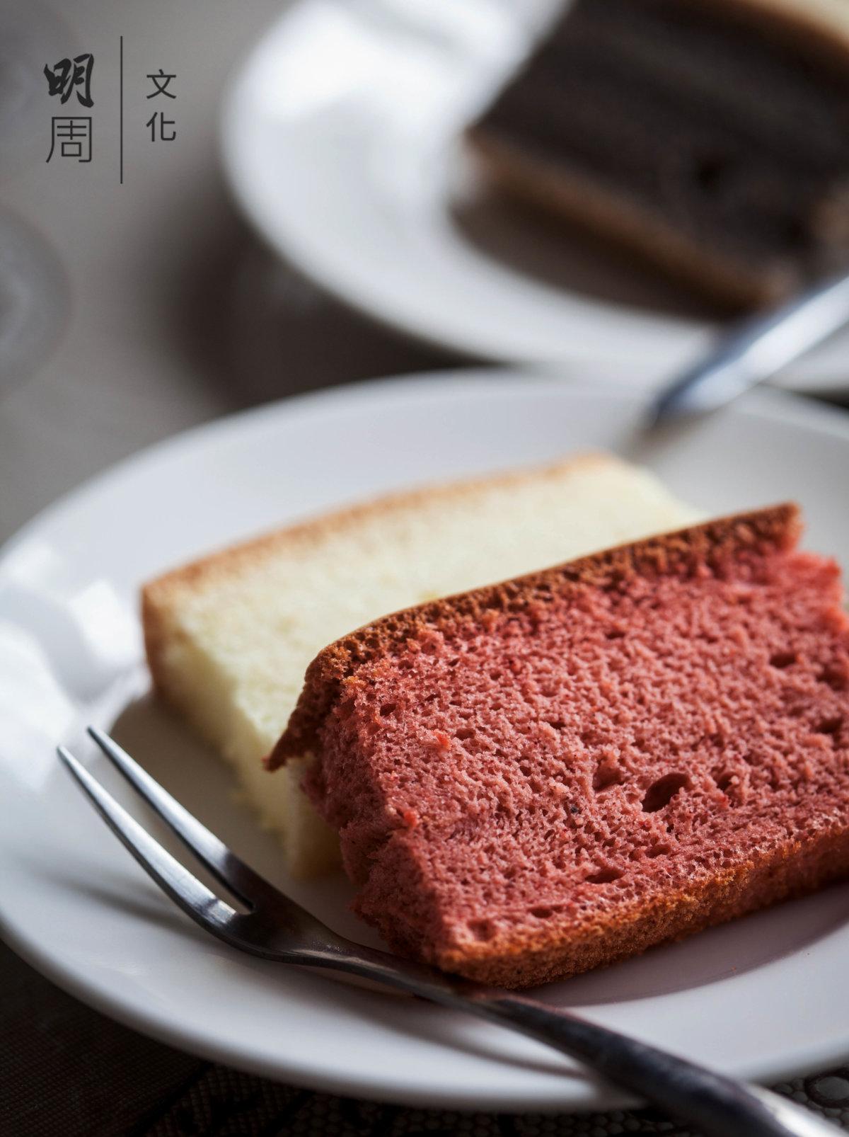 米蛋糕容易消化,吃起來沒有太大負擔。