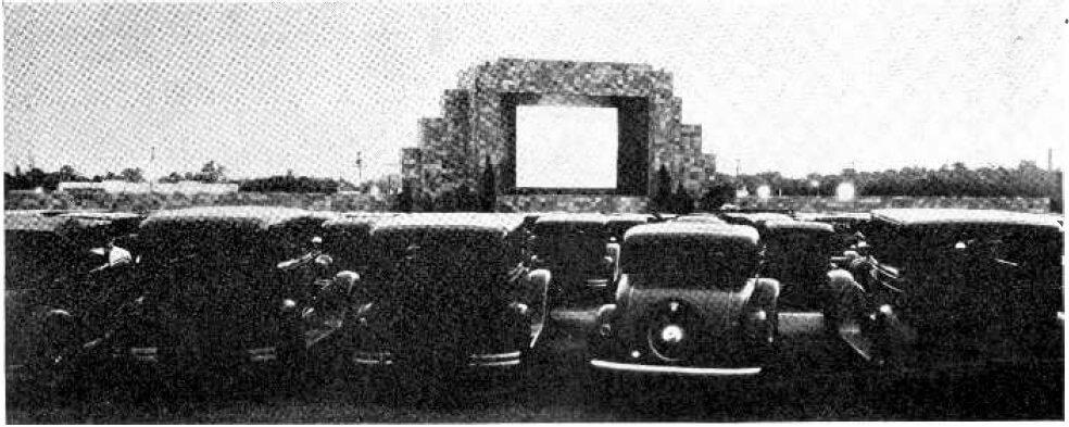 一九三三年,首間汽車戲院在美國新澤西州肯頓市(Camden)面世。