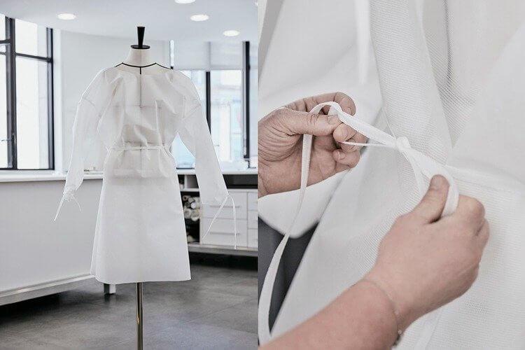 Louis Vuitton口罩與防護衣
