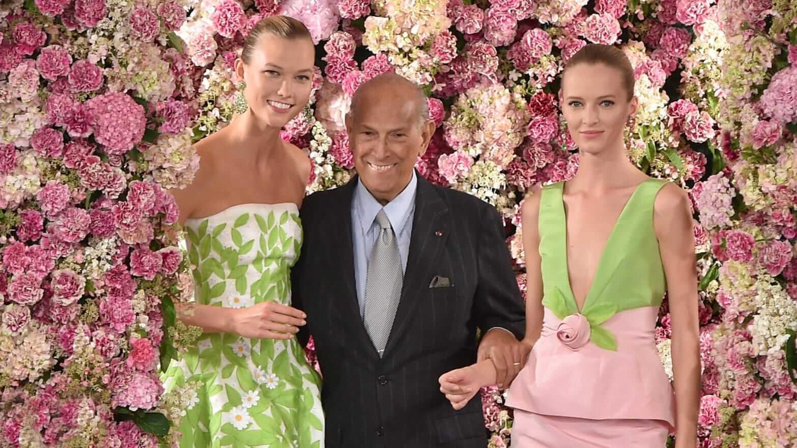 Oscar de la Renta二〇一五年春夏時裝騷,是創辦人最後一場遺作。
