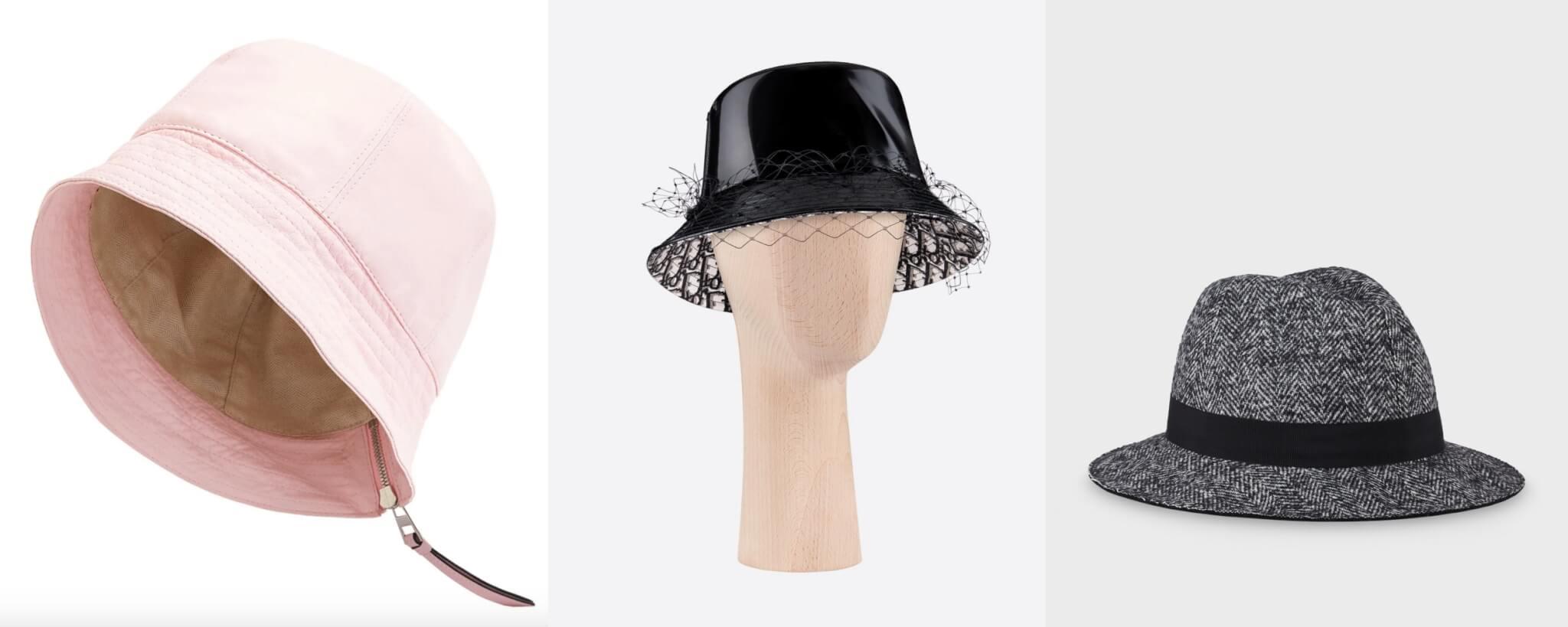左起:Loewe、Dior、Giorgio Armani