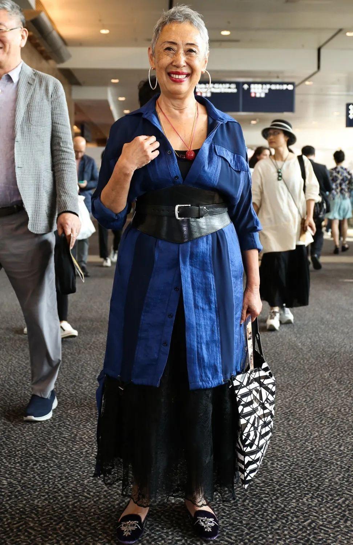 Joyce Ma退下火線多年,那種雍容和時尚氣質卻依舊不減。