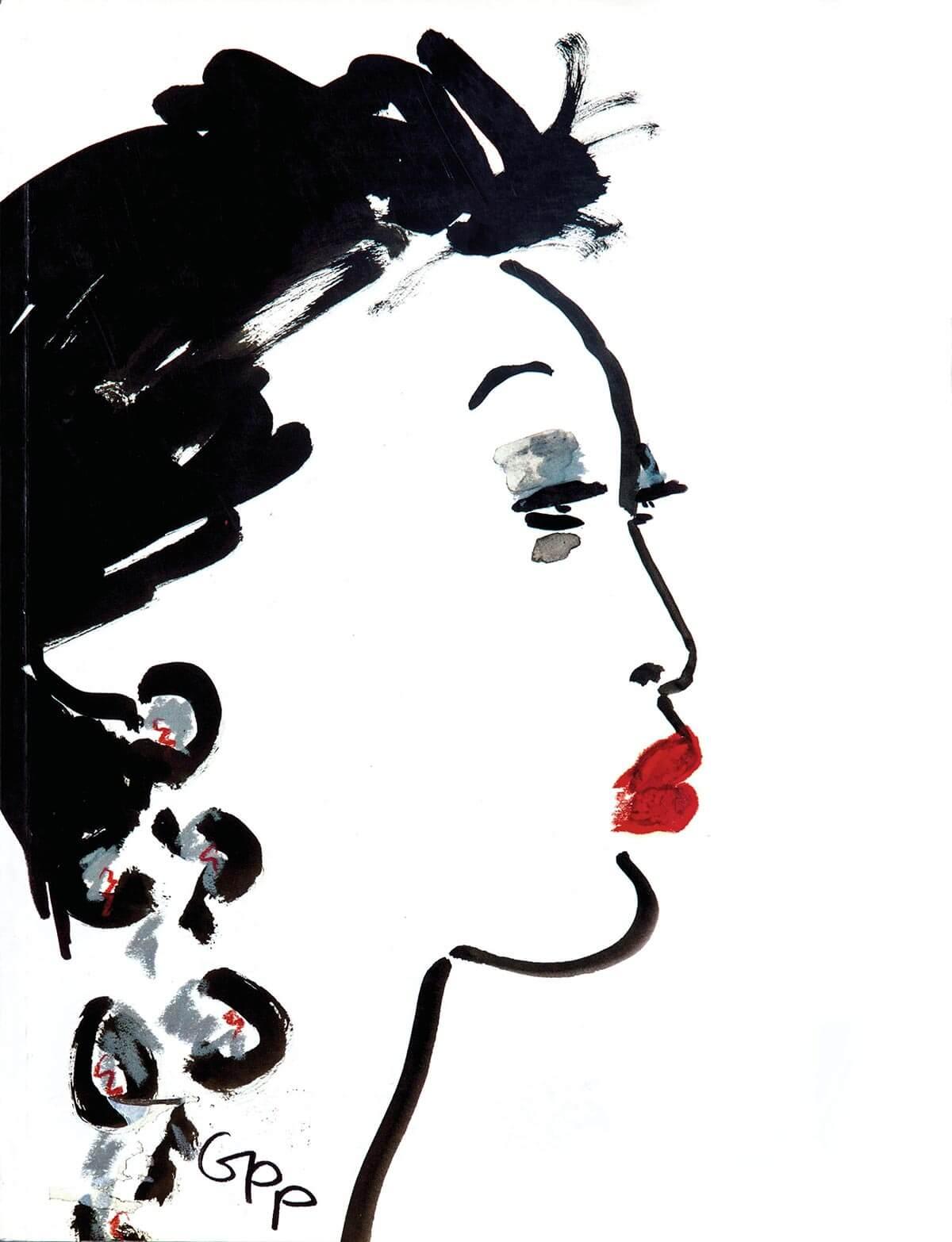 Gladys Perint Palmer為Joyce Ma繪畫的肖像