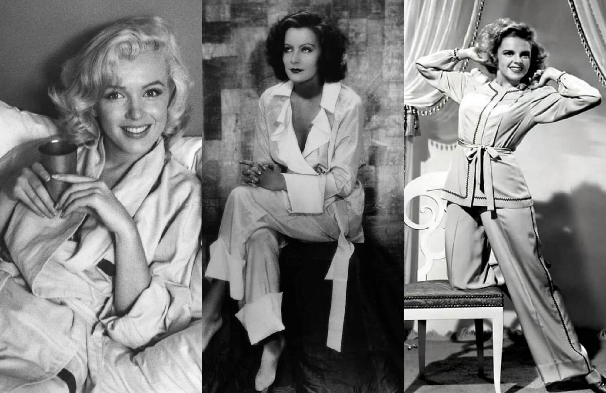 左起:Marilyn Monroe、Greta Garbo、Judy Garland。