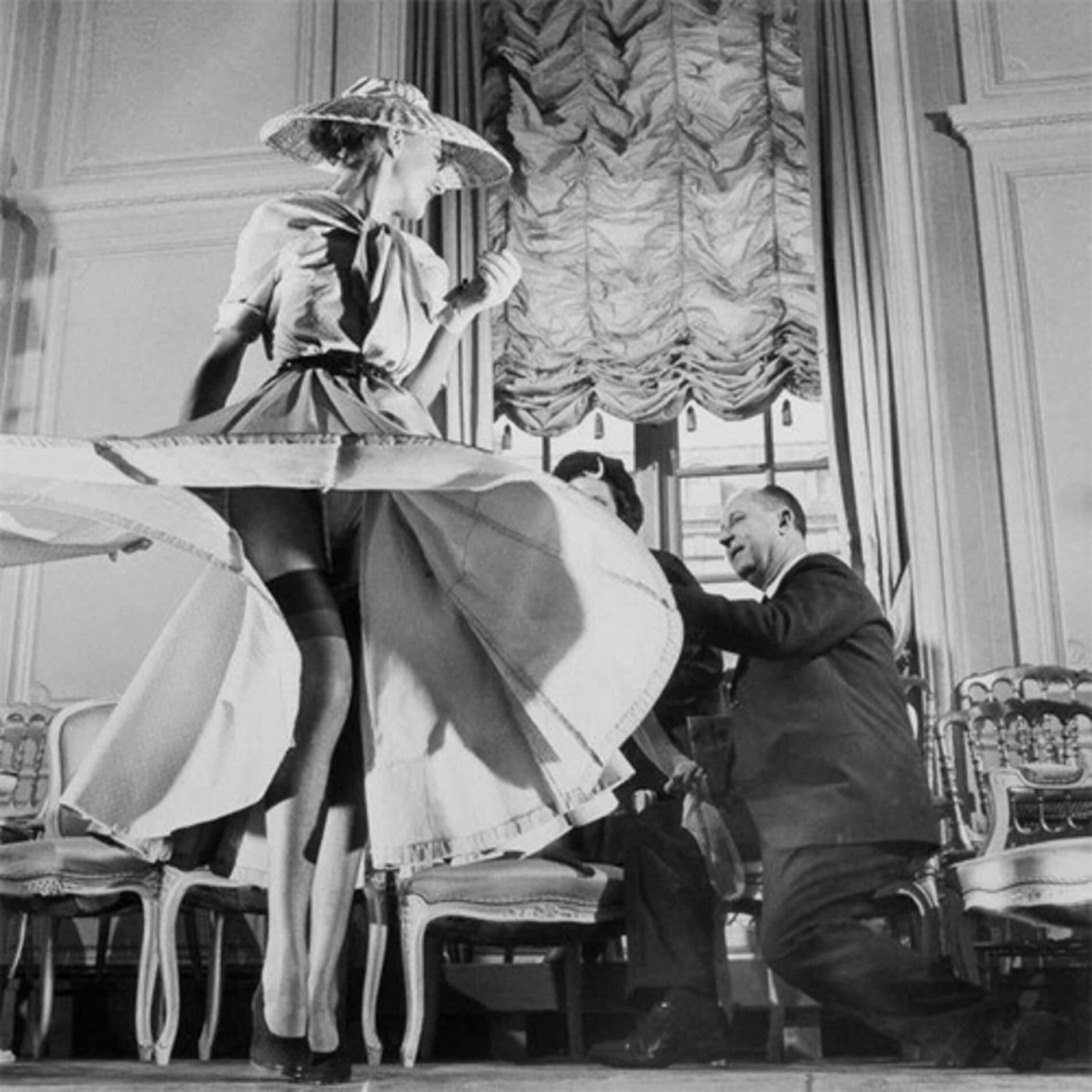 Mr. Dior一直視此花為自己的幸運符,亦以此花為靈感繆思。