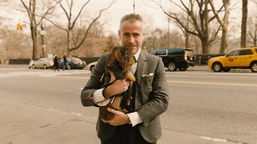 Thom Browne與愛犬Hector Browne
