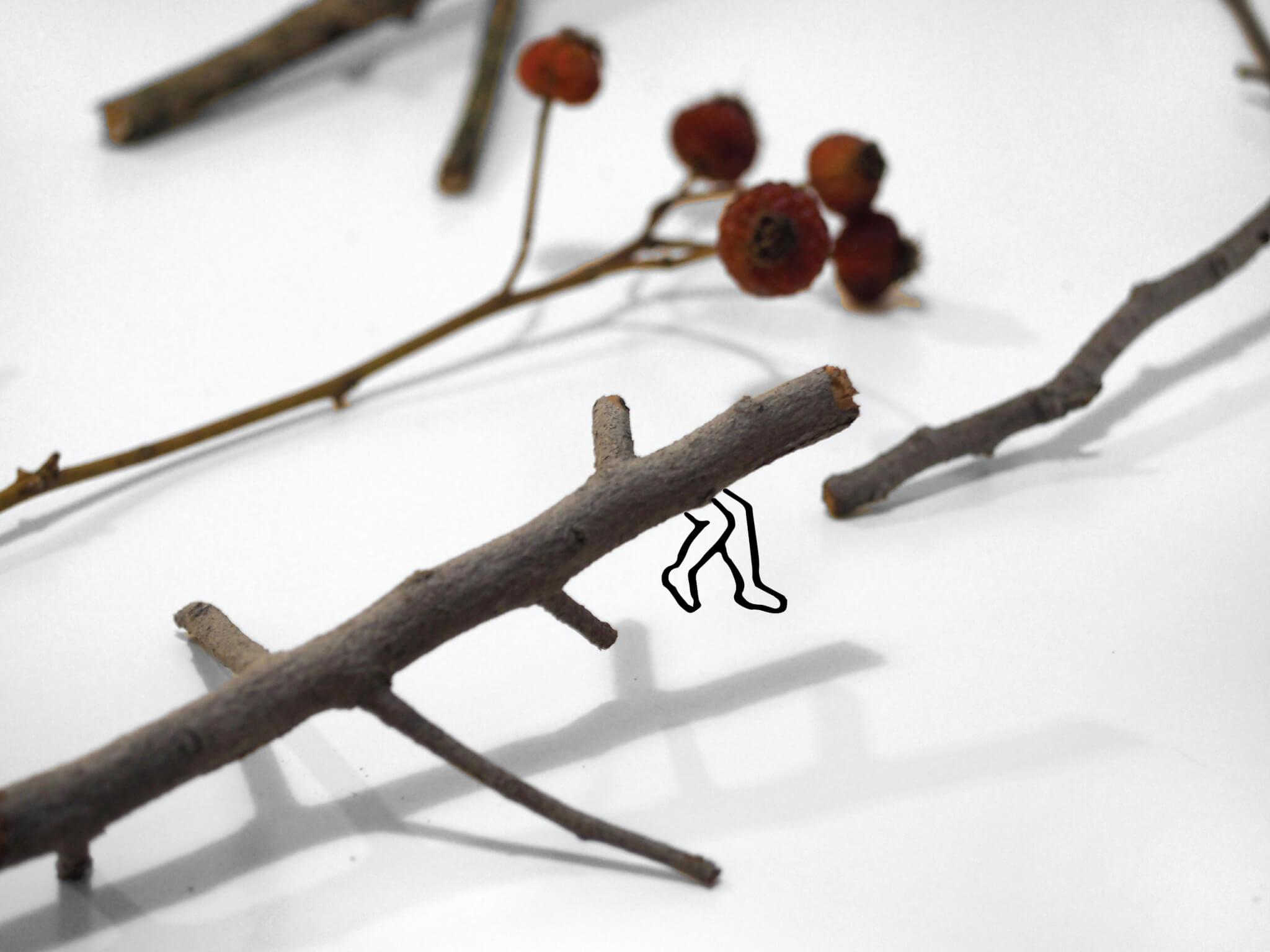 UUendy為石頭、樹枝和樹葉賦予人的性格同想法,令讀者更容易代入。