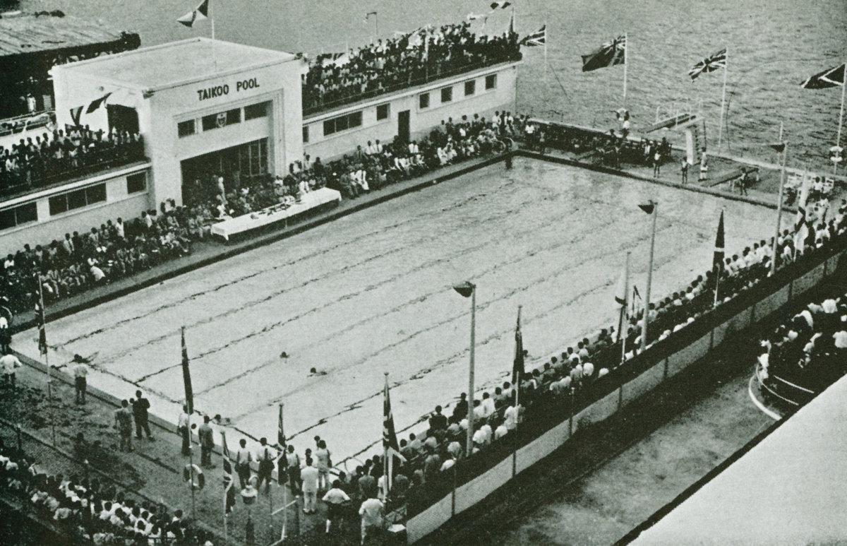 太古提供員工的游泳池(圖片由太古地產提供)