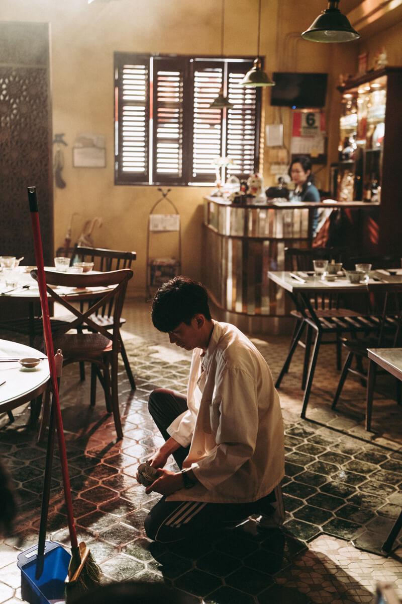 小野每次演出均很投入角色,他笑言在《花椒之味》中自己有個樓面的靈魂在當中,不時會想幫忙執枱。
