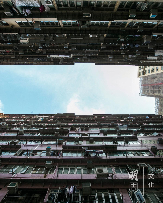 樓層十一,還可以看到一線天。
