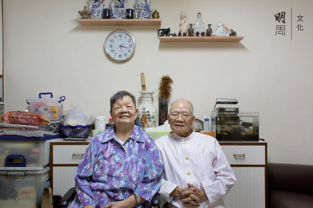 黎先生和太太相濡以沫,在太安樓安居四十六年。