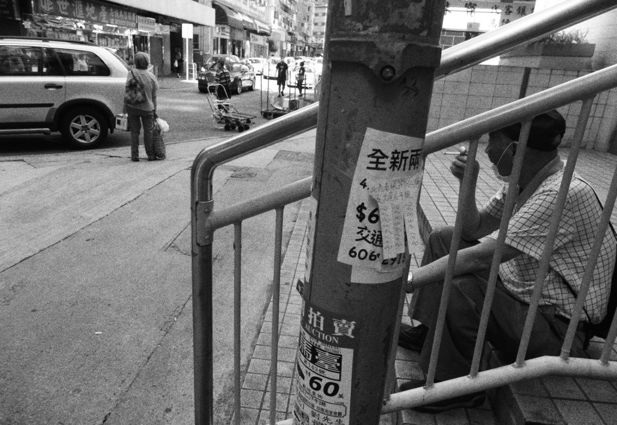 Face-masked during Covid-19 pandemic, Hong Kong, May 2020 (Photo: John Batten)