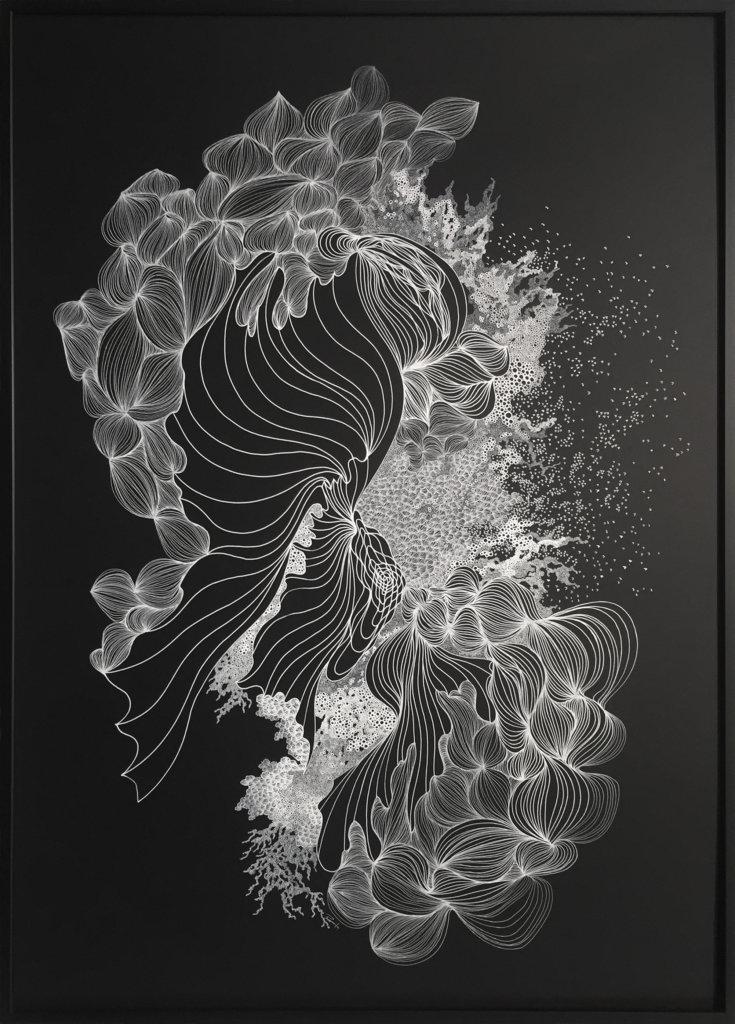 《珊瑚釋卵I》,Raymond Pang