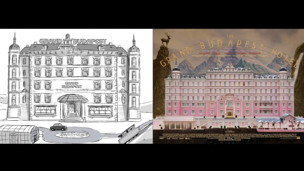酒店建築設計。