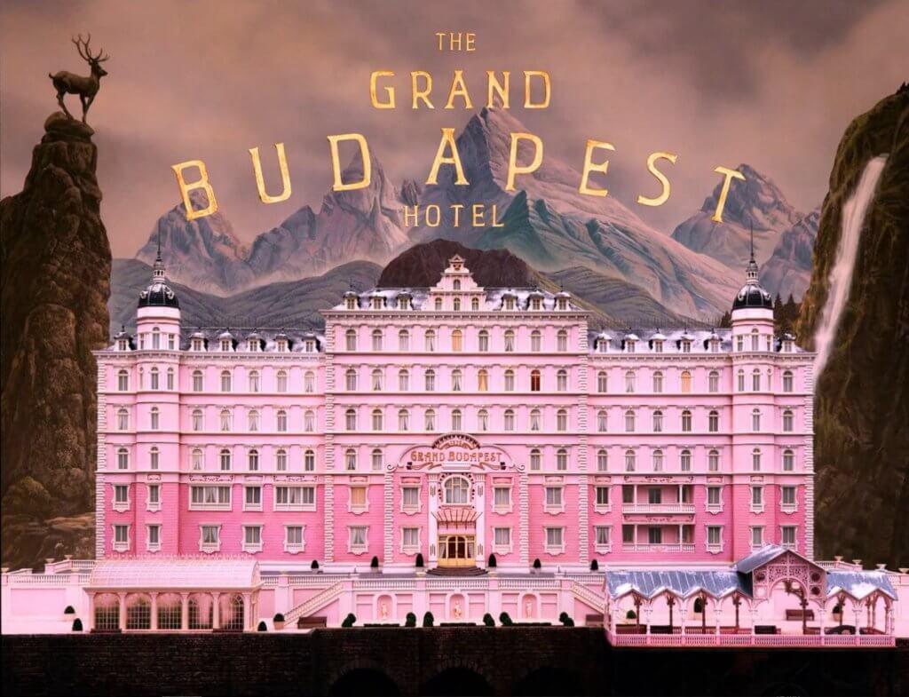 復古粉色調是《布達佩斯大酒店》的標誌。