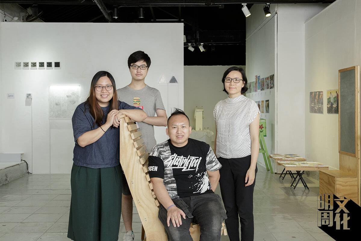 團隊成員:灣社區客廳」計劃成員:呂芷謙、陳朝鏗和袁偉德,以及「多磨建社」建築師馬潔怡