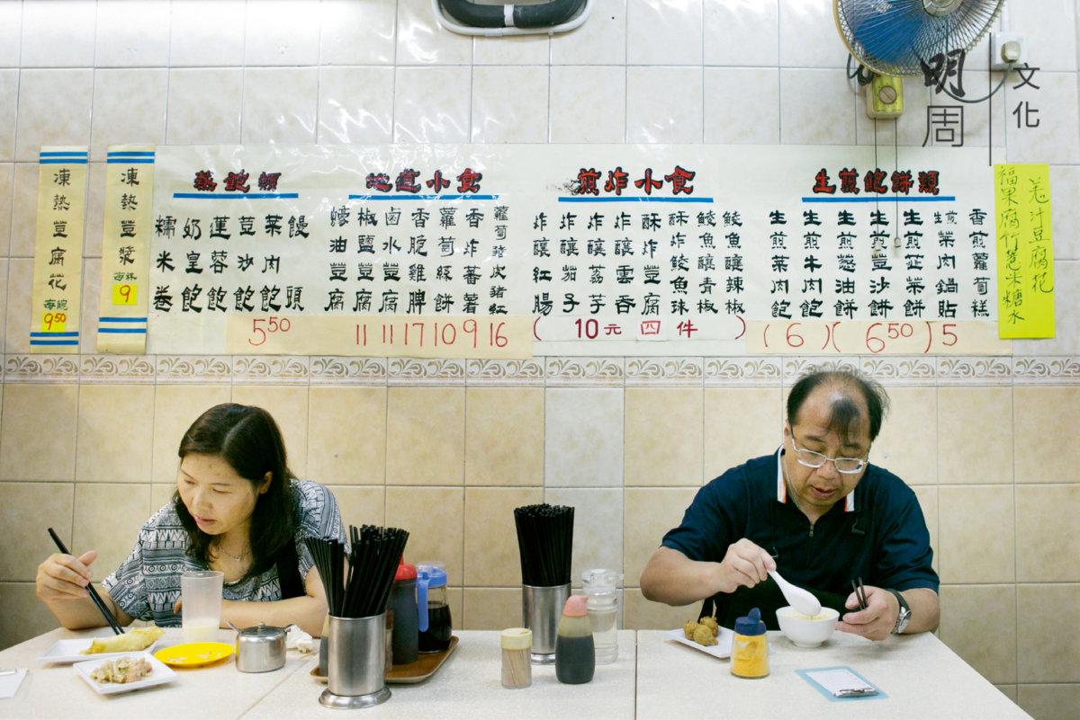 陳子富說,老店不能只是賣老,要有點新樣式留住客人。