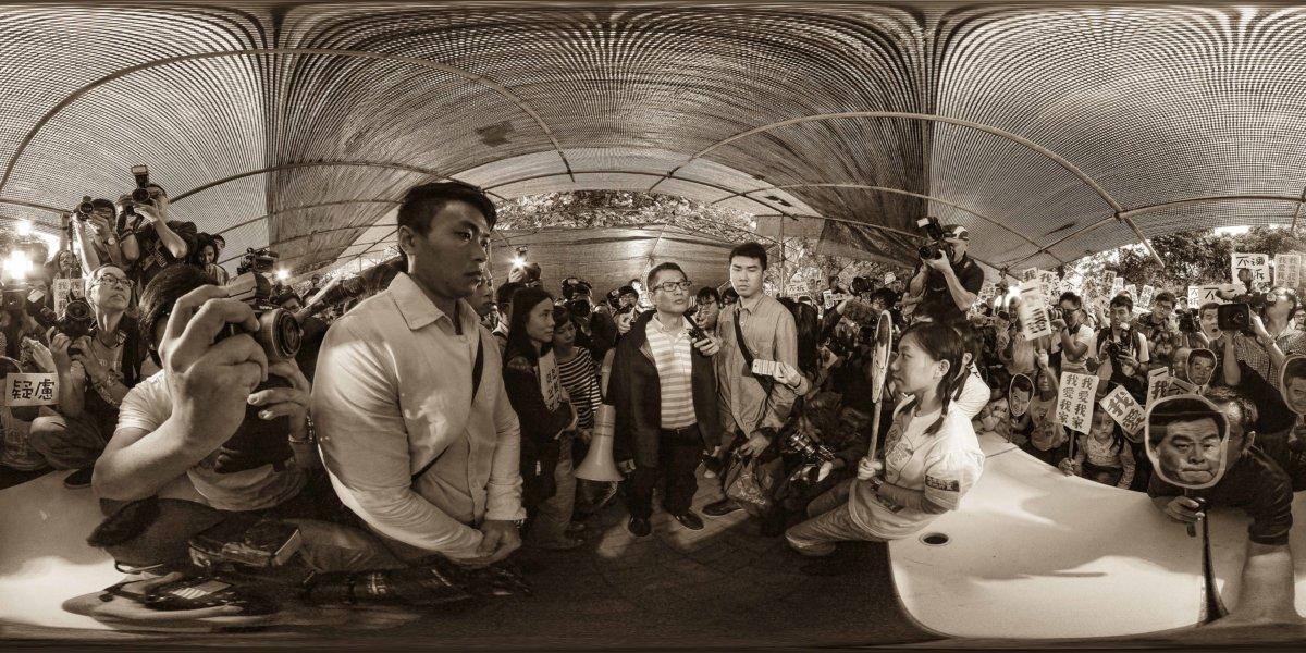 同年,傳媒 披露陳茂波在古洞至少持有三幅 近一萬五千呎農地,估計可獲 一千二百多萬元賠償。(圖片由 蔡旭威提供)