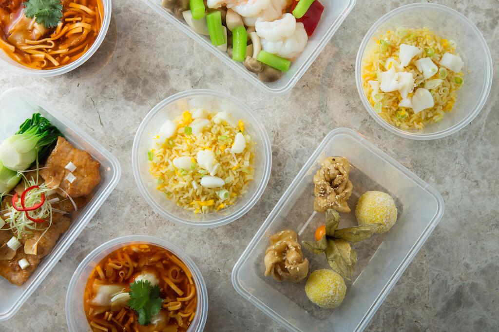 營致會館二人外賣套餐//蕭顯志主廚希望套餐帶有豐富和家的滋味,所以食物包括湯羹、炒飯、海鮮、肉和甜品。($290/位,兩位起)
