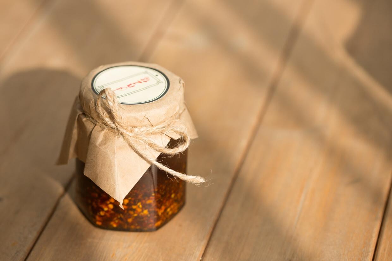 三豉醬鮮辣油 // 由手作工房出產,每瓶足有160克。($98/瓶)