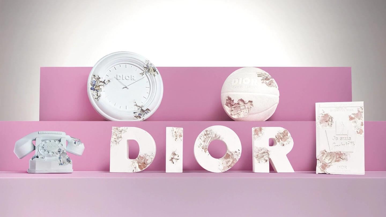 Dior X Daniel Arsham家品擺設