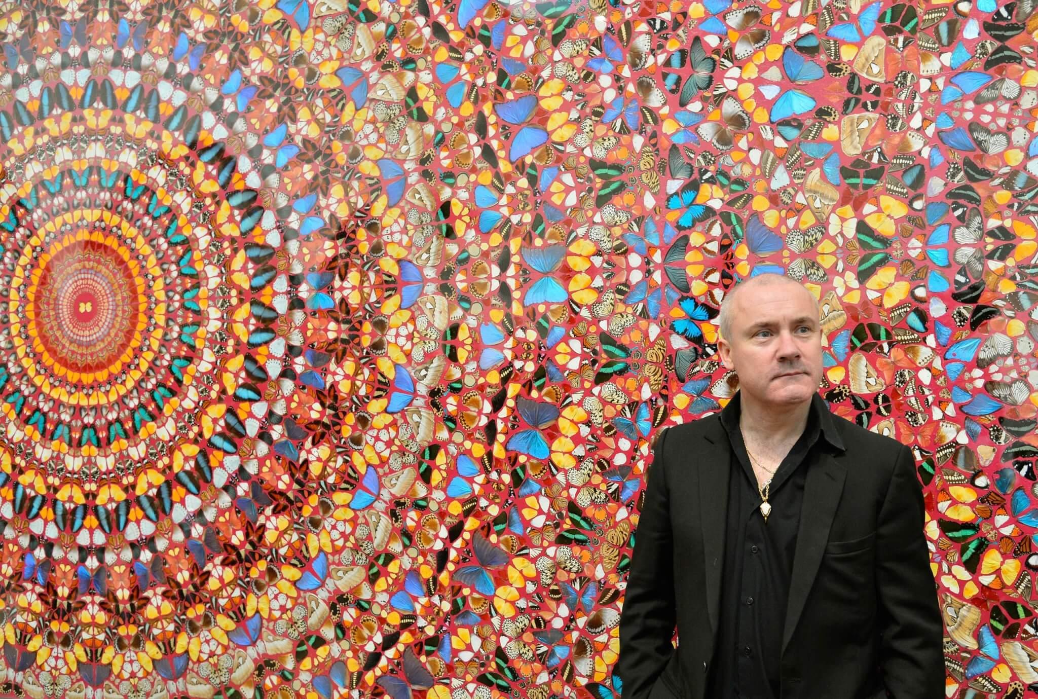 藝術家Damien Hirst