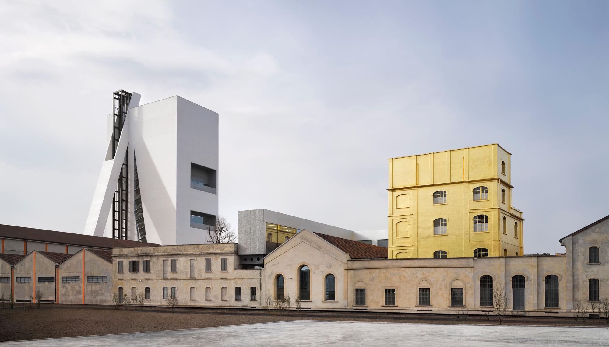 Fondazione Prada位於米蘭的總部