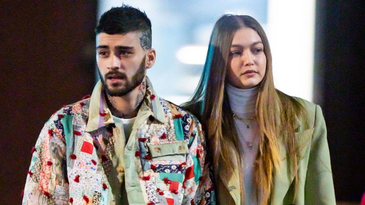 Gigi Hadid公布懷孕消息後首度與男友Zayn Malik現身,臉型明顯豐腴不少,卻也不失時尚和名模氣勢。