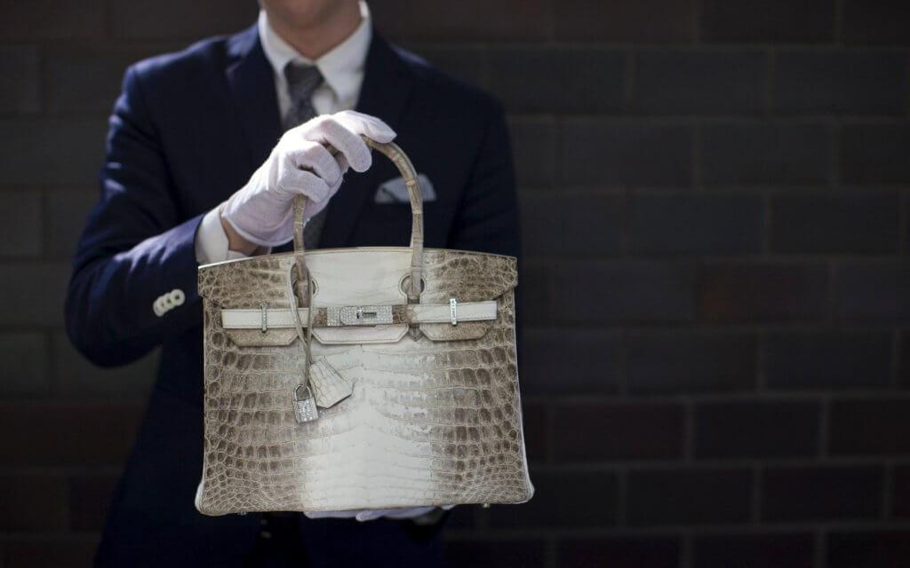 Hermès手袋成為拍賣重點