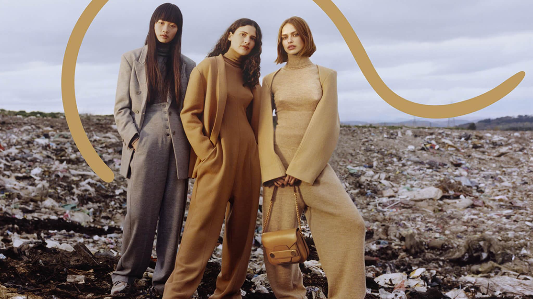 Stella McCartney一向採用環保及可持續發展物料製作服裝,