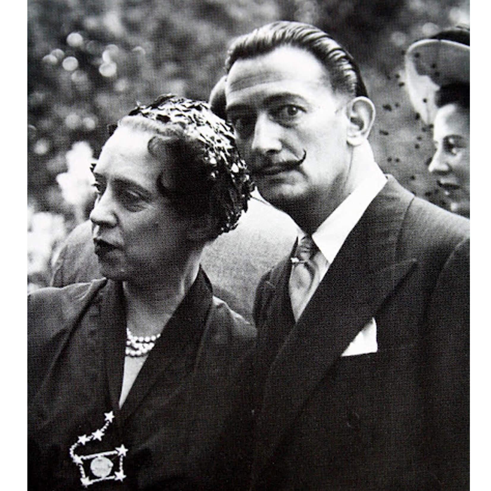 Elsa Schapiarelli與Salvador Dalí