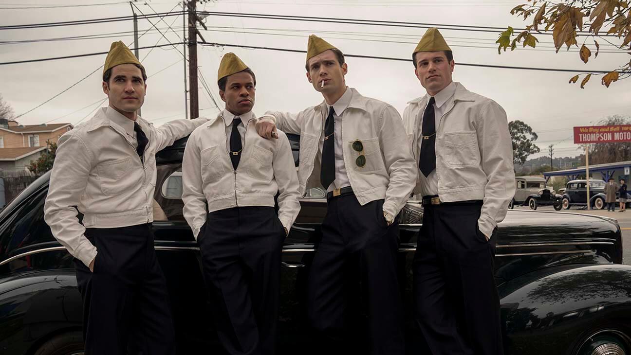 「加油店」員工制服是《Hollywood》戲服設計師最喜愛的造型之一。