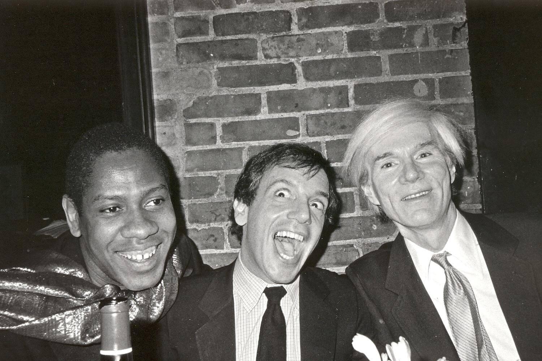 (左)年輕時的André Leon Talley曾為(右)Andy Warhol工作,成為踏足文化、時尚界的契機。