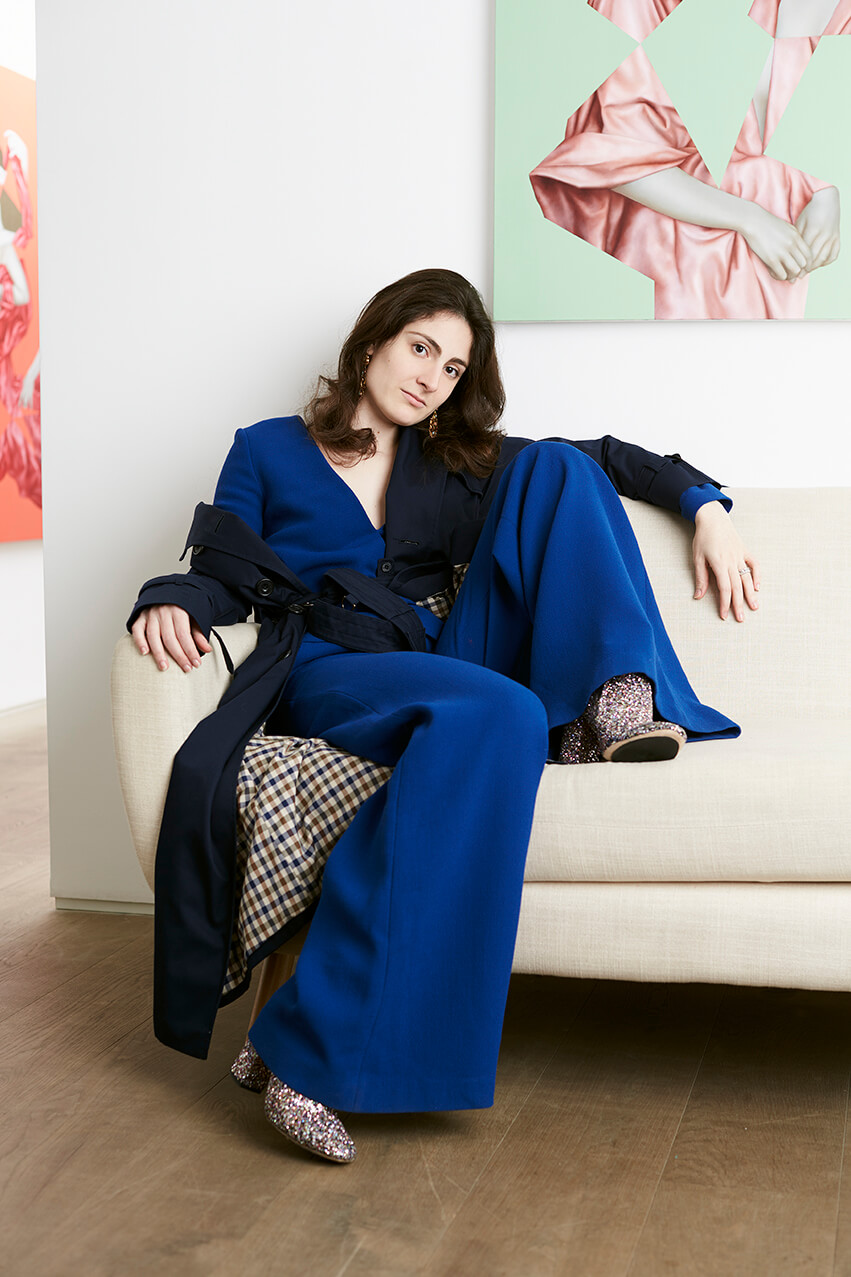藝術家Juliette Mahieux Bartoli擁有法國與意大利血統,如今定居英國倫敦,一生浸淫在不同的時尚國度中。