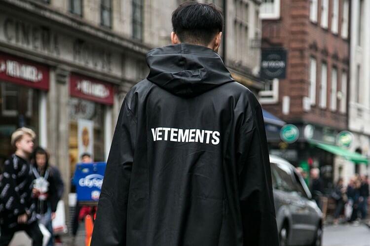早幾年興起潮聯品牌Vetements已經風光不再