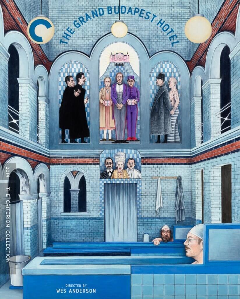 值得珍藏的《布達佩斯大酒店》藍光DVD,出自Criterion Collection。