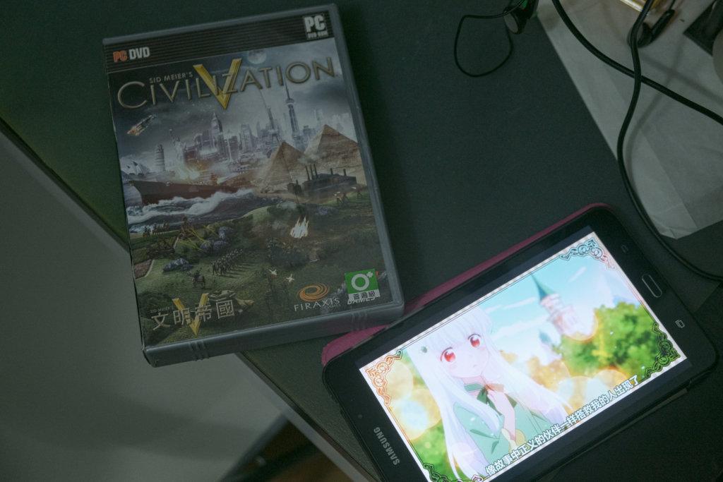 桂華喜歡的遊戲與動漫作品。