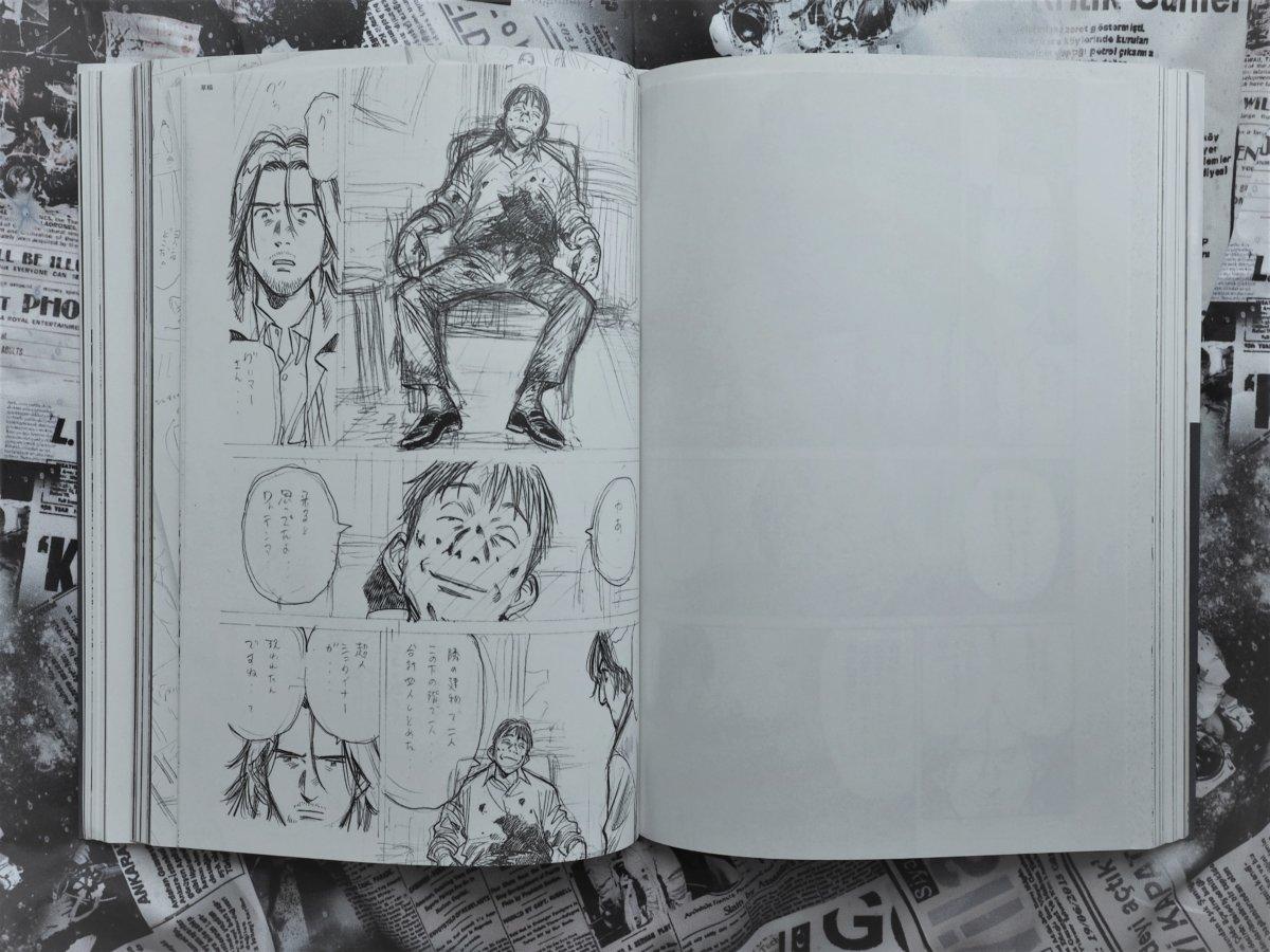 《Monster》草圖