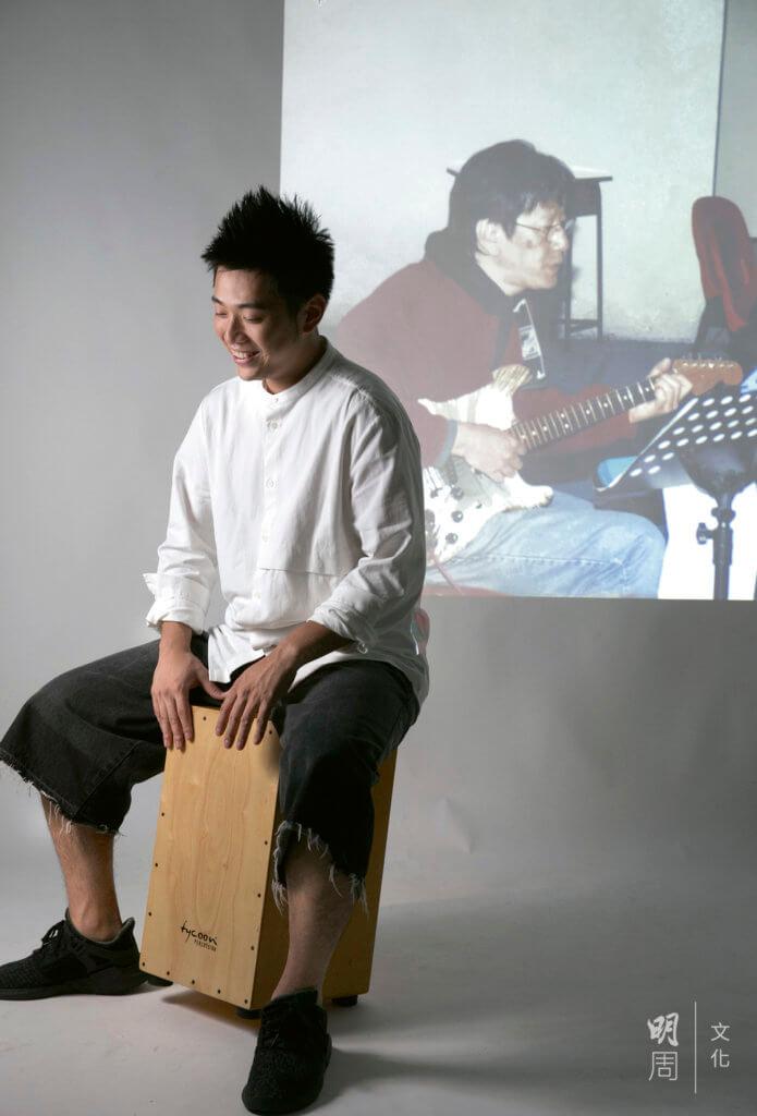 Wu的音樂天賦來自爸爸,可惜再沒有機會一起合奏。