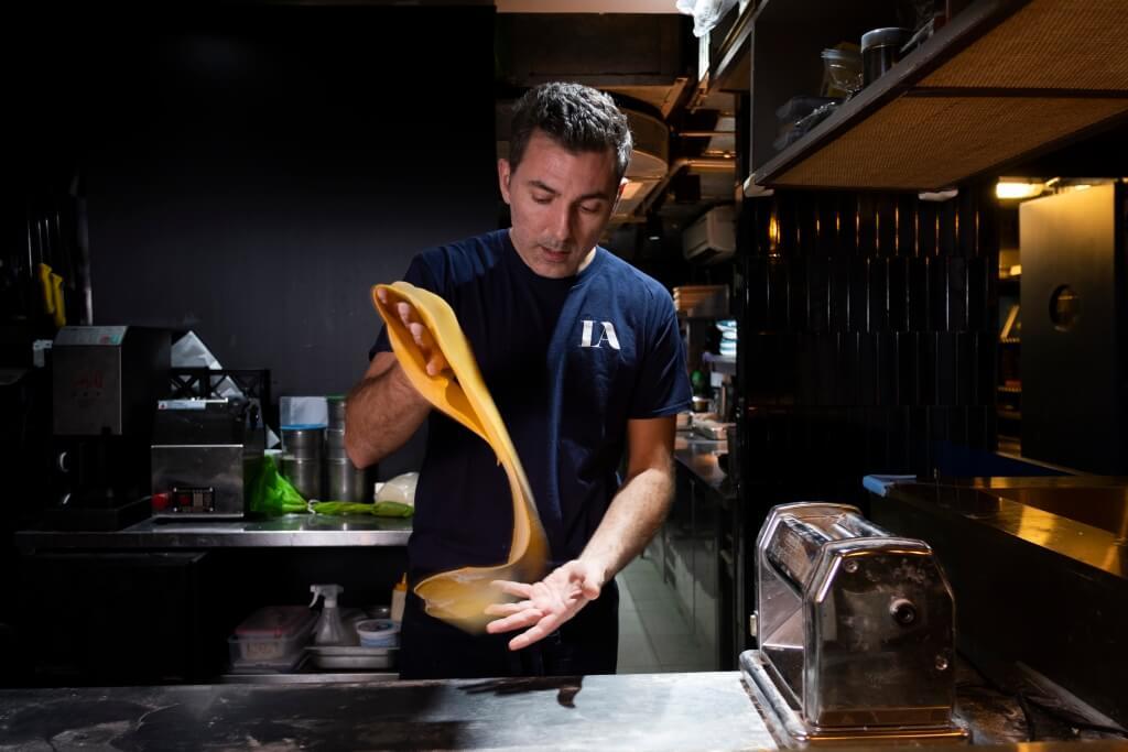 主廚之一的Alessandro是意大利人,堅持主要使用意大利食材,把傳統意菜以新摸樣呈現。
