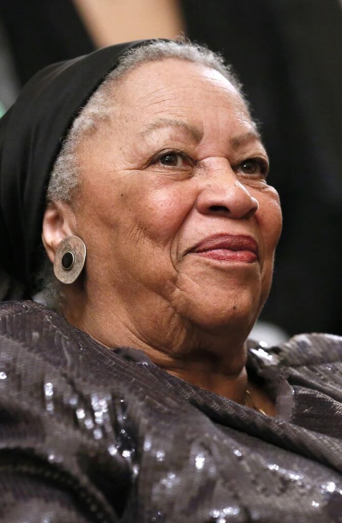 2012年的Toni Morrison (法新社)