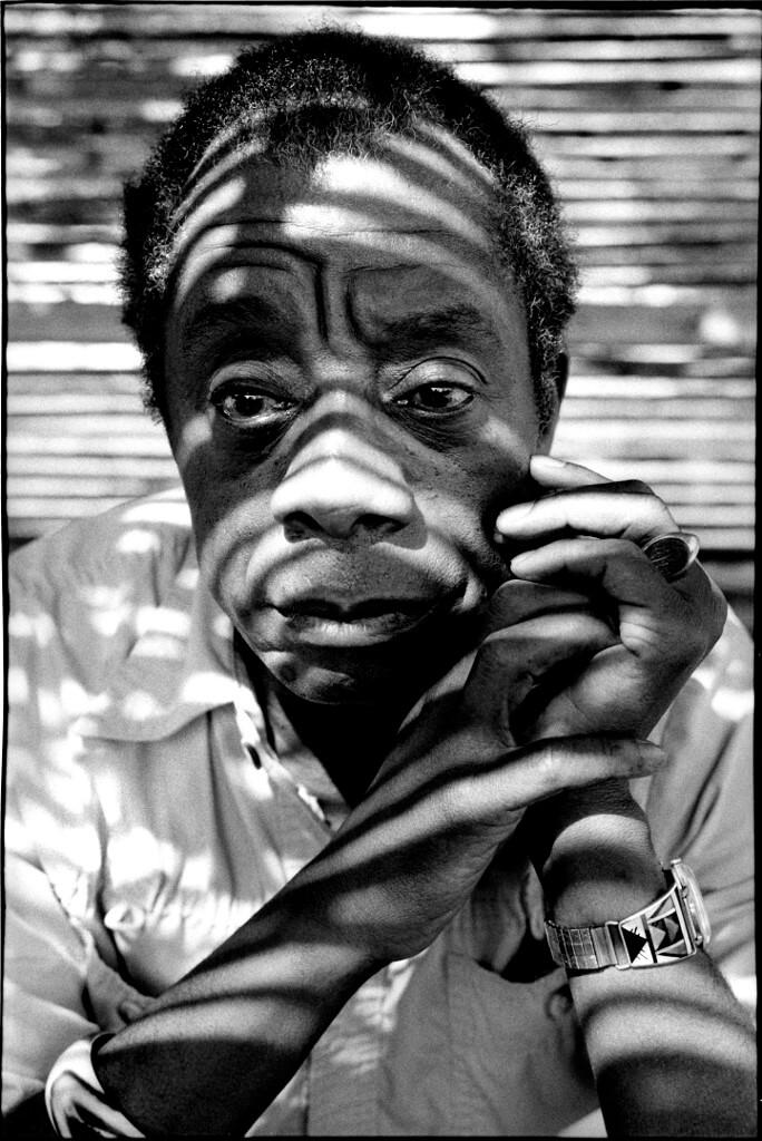 James Baldwin 1985年在法國家中。(法新社)