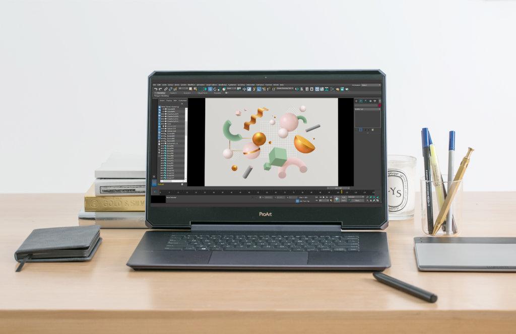 PANTONE Validated認證的15.6吋4K UHD顯示螢幕,顏色差異少於1 Delta E(ΔE),配上寬廣的100%Adobe RGB色域。