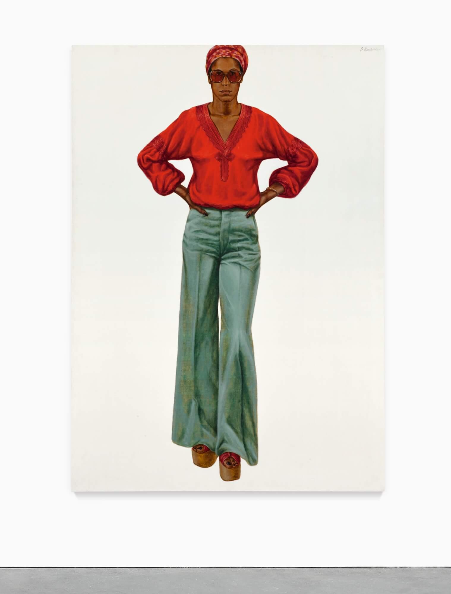 《BRENDA P 》(1974)的主角打扮時髦