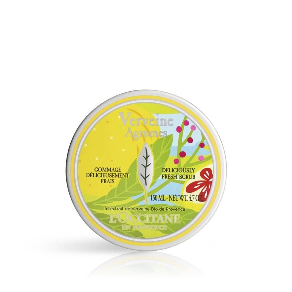 L'Occitane 柑橘馬鞭草輕盈潤膚霜 HK$250/150ml 清新冰涼雪葩質感,不黏不膩,在肌膚上呈現「冰融感」。加入清新怡神的柑橘馬鞭草香氣,讓人倍感清爽,適合在炎夏為肌膚保濕。