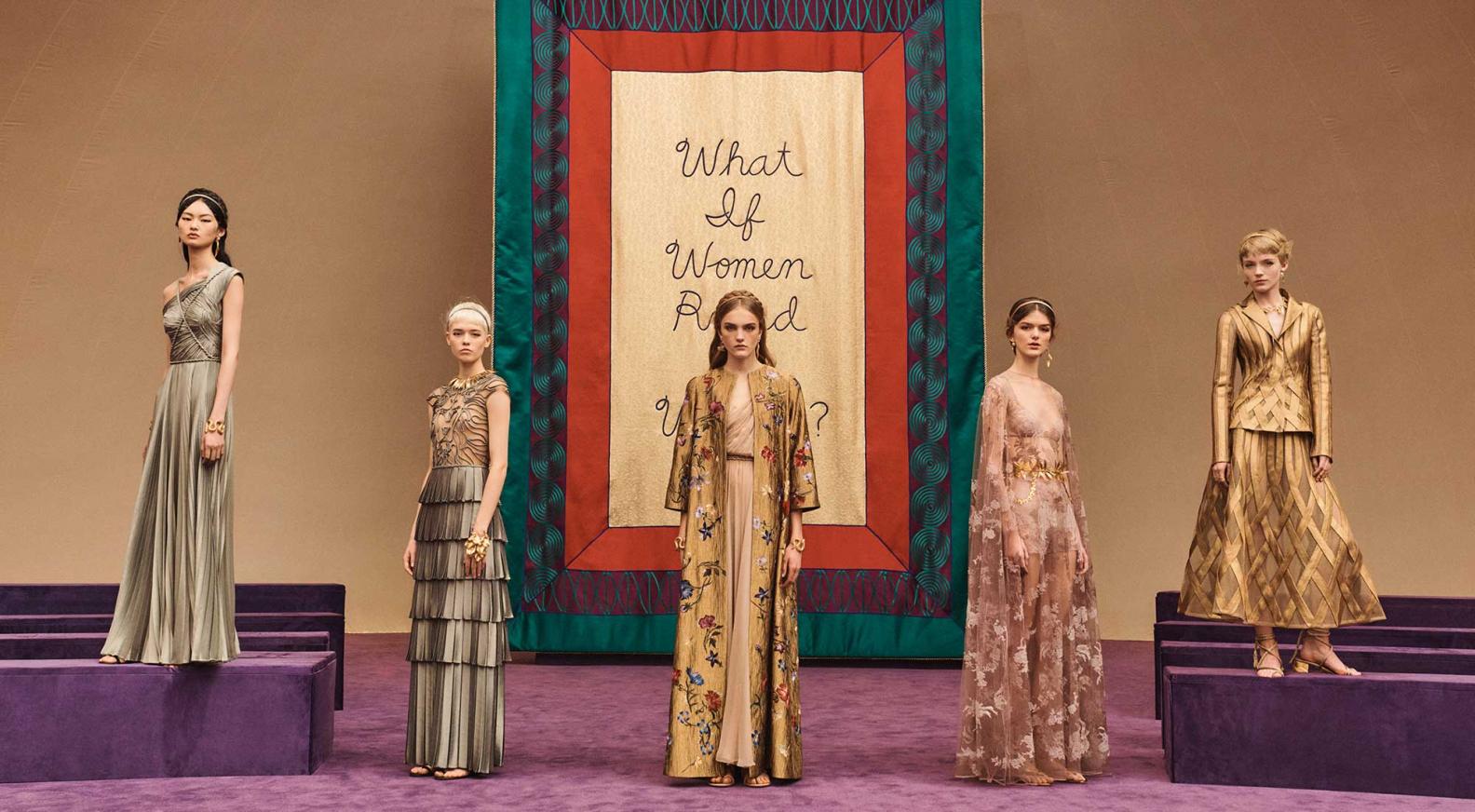 Dior二〇二〇年春夏高級訂製時裝騷