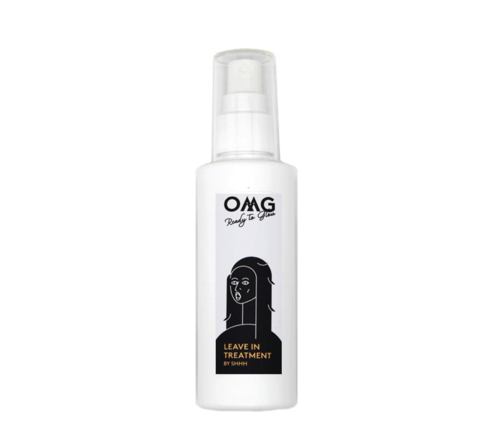 OMG Leave-in Treatment HK$535 同陽光玩遊戲之餘,頭髮都要做好防曬!減少紫外線對頭皮與頭髮的損害,每次外出前可以將OMG Leave-in Treatment均勻塗抹在頭髮上。成分除了包括植物幹細胞及十種輕盈不膩的植物油分作修護,更加入了抗熱及Anti-UV 。