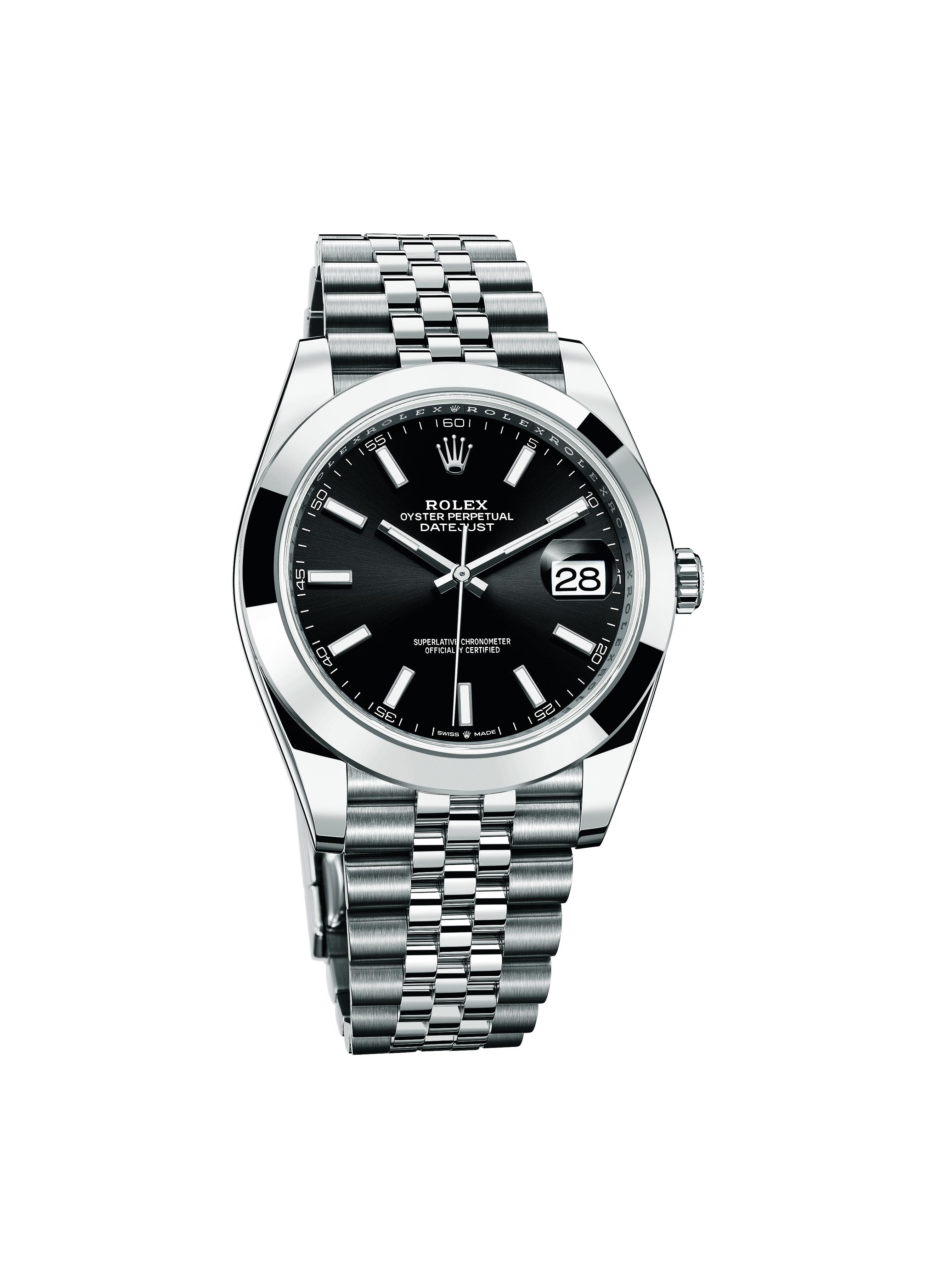 Oyster Perpetual Datejust 41精鋼腕錶($61,500, Rolex)