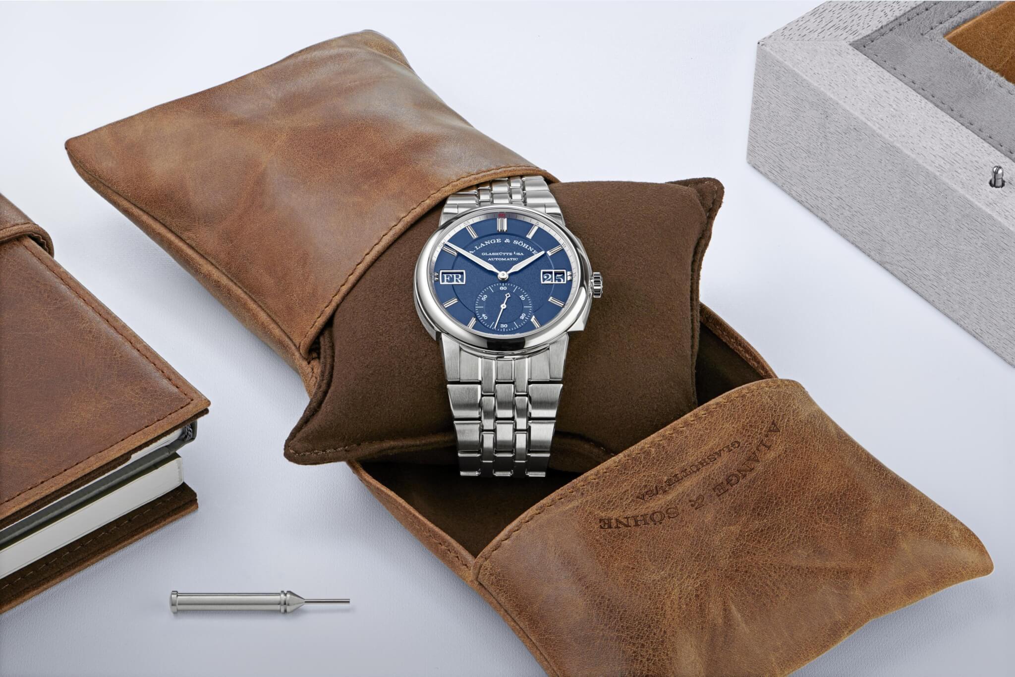 ODYSSEUS運動腕錶配精鋼錶帶
