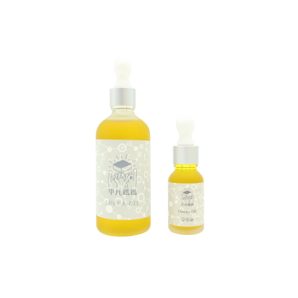 平凡媽媽Omega Oil $68 含有印加果油和金盞花浸泡油,適合敏感乾燥皮膚,可以強化新陳代謝,抑制發炎。沐浴後取適量於掌心,在皮膚上輕按至吸收。